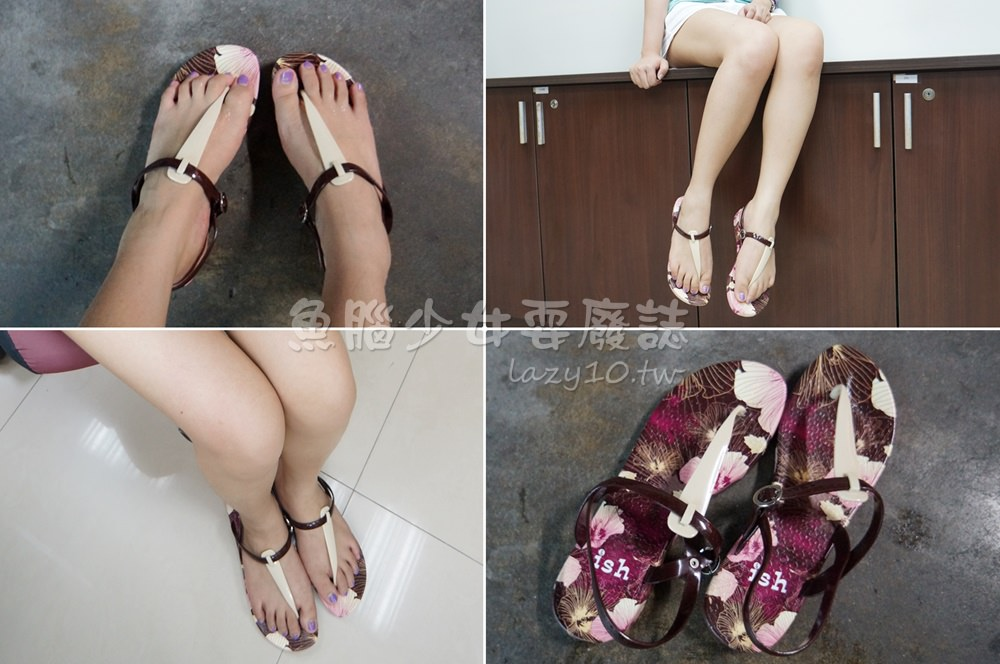 greenboxfootwear-ish涼鞋款 扶桑花女孩