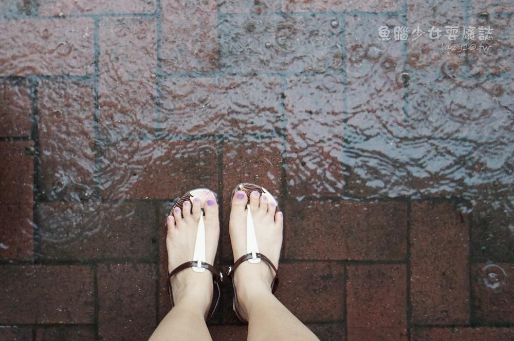 繽紛防水涼鞋●Greenbox Footwear-ish扶桑花女孩讓雨天外出也有型~