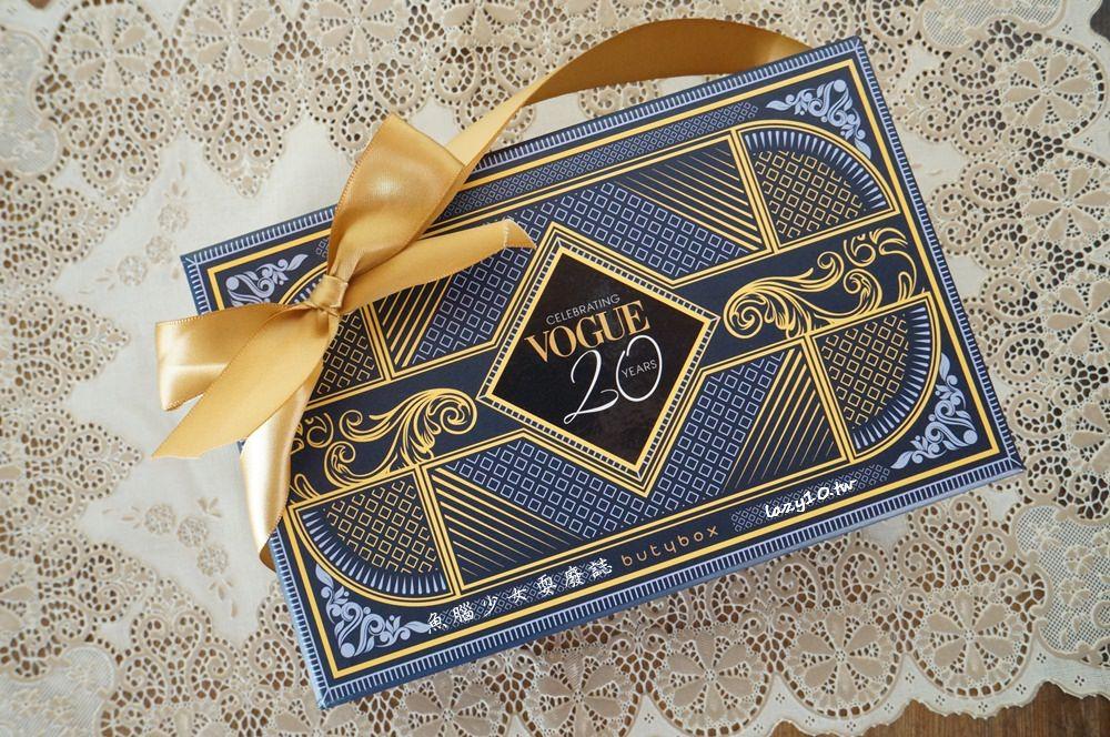 美妝盒●butybox X Vogue 20周年限定版聯名盒11月體驗盒來囉(內含1028/WHOO/Avene/OLAY/AYURA)