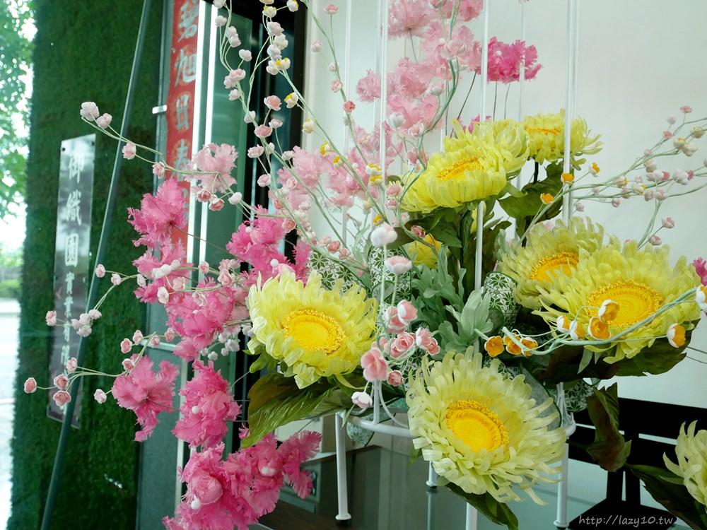高雄婚禮花客製●御織園伊巫花-永不凋謝的新娘頭花、胸花、捧花租借推薦