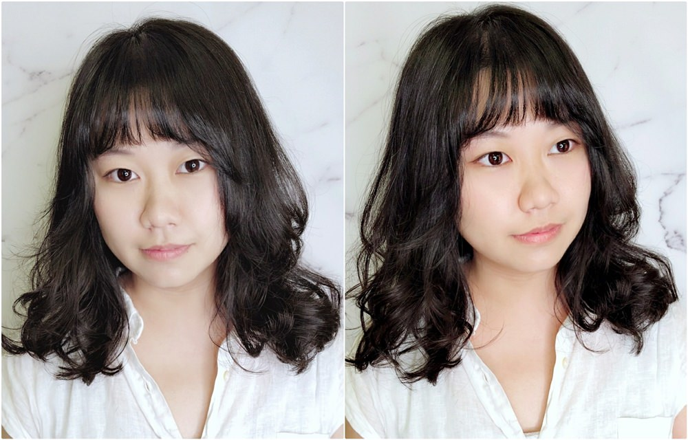 高雄燙髮推薦○肆FOR Hair Salon x 歐陽,自然韓系捲髮(空氣瀏海+中長髮燙髮)