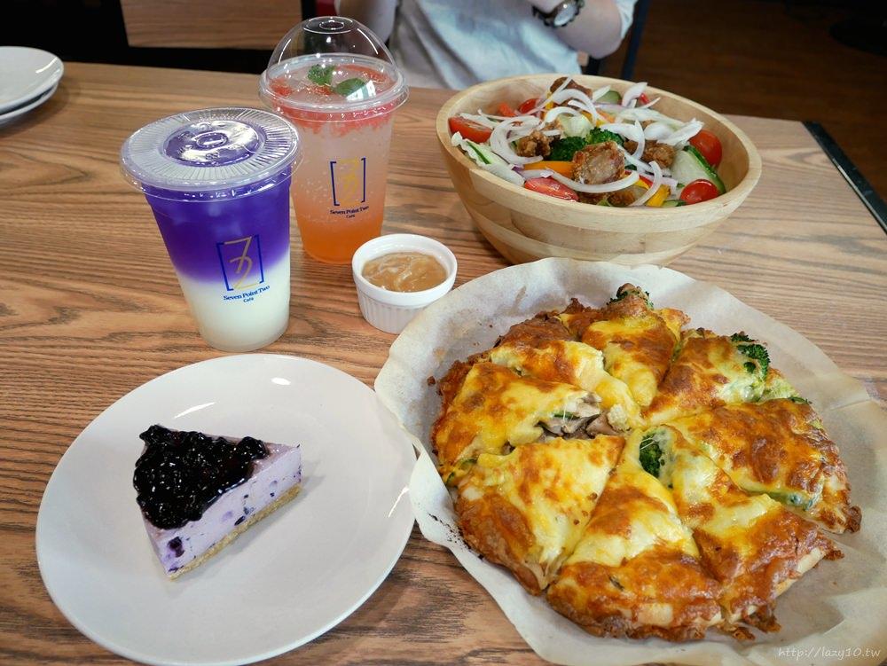 高雄聚餐餐廳●7.2 Café柒點貳咖啡,DIY手作pizza、下午茶好去處(親子友善餐廳/不限時咖啡廳/免費wifi插座)