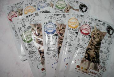 貓食●快樂尾-貓咪鮮餐包、鮮肉排、手工零食