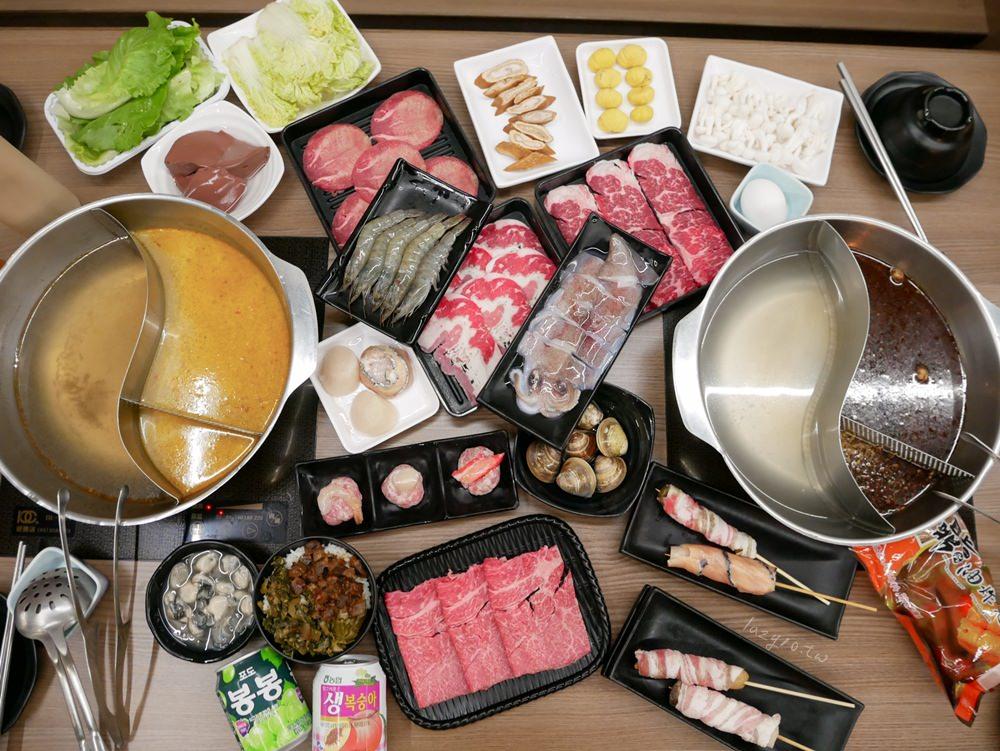 高雄三民火鍋 | 吳董自助火鍋超市大樂店,四種湯頭、新鮮食材隨你挑