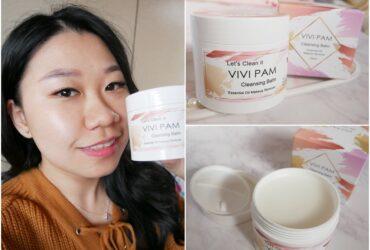 卸妝霜推薦 | VIVI PAM精萃輕感卸妝凝霜,輕盈質地把全臉彩妝一次卸乾淨