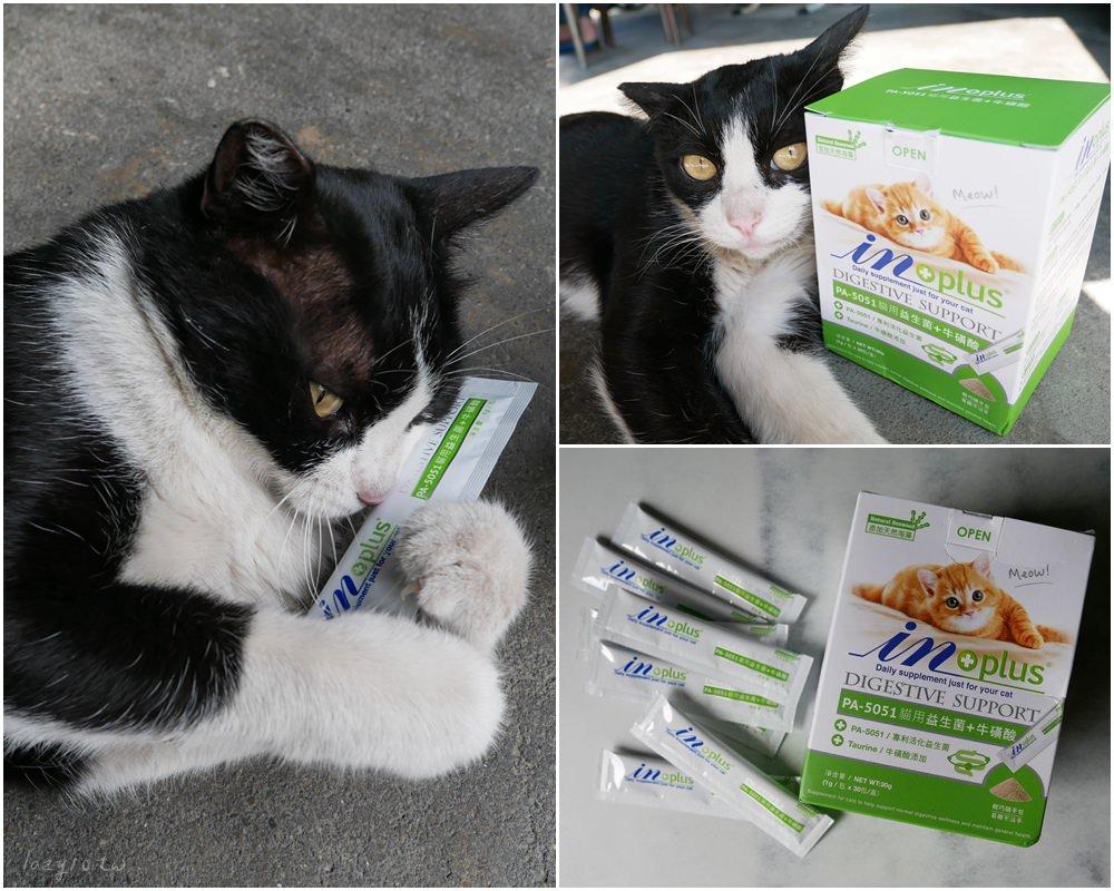 貓益生菌分享 | IN-Plus寵物營養品-PA-5051貓用益生菌+牛磺酸