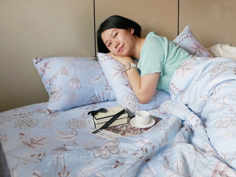 天絲床包開箱 | 睡眠屋-天絲床包、天絲兩用被,親膚柔滑讓我相見恨晚