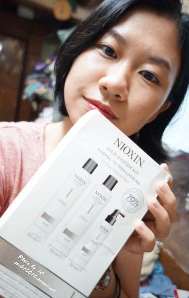 愛護頭皮 強化秀髮~NIOXIN耐奧森豐髮洗護組