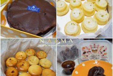 宅配甜點●NAOMA那歐瑪烘培-巧啡撥片&黑色幽默(伯爵巧克力香蕉黑糖戚風)